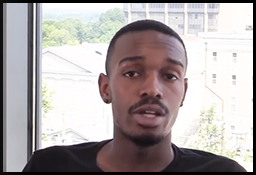 Photo of Kendrick Forte, who is featured in a video; click article link for transcript and video.