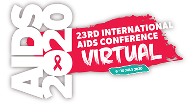 AIDS 2020 Logo Banner - 23rd International AIDS Conference, Virtual 6-10 July 2020